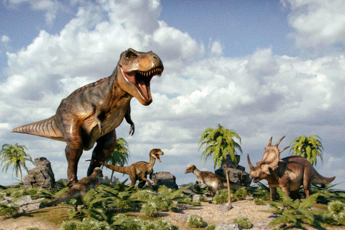 Картинки современные динозавры запчастям