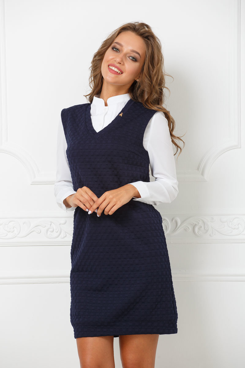 Картинка сарафан и блузка