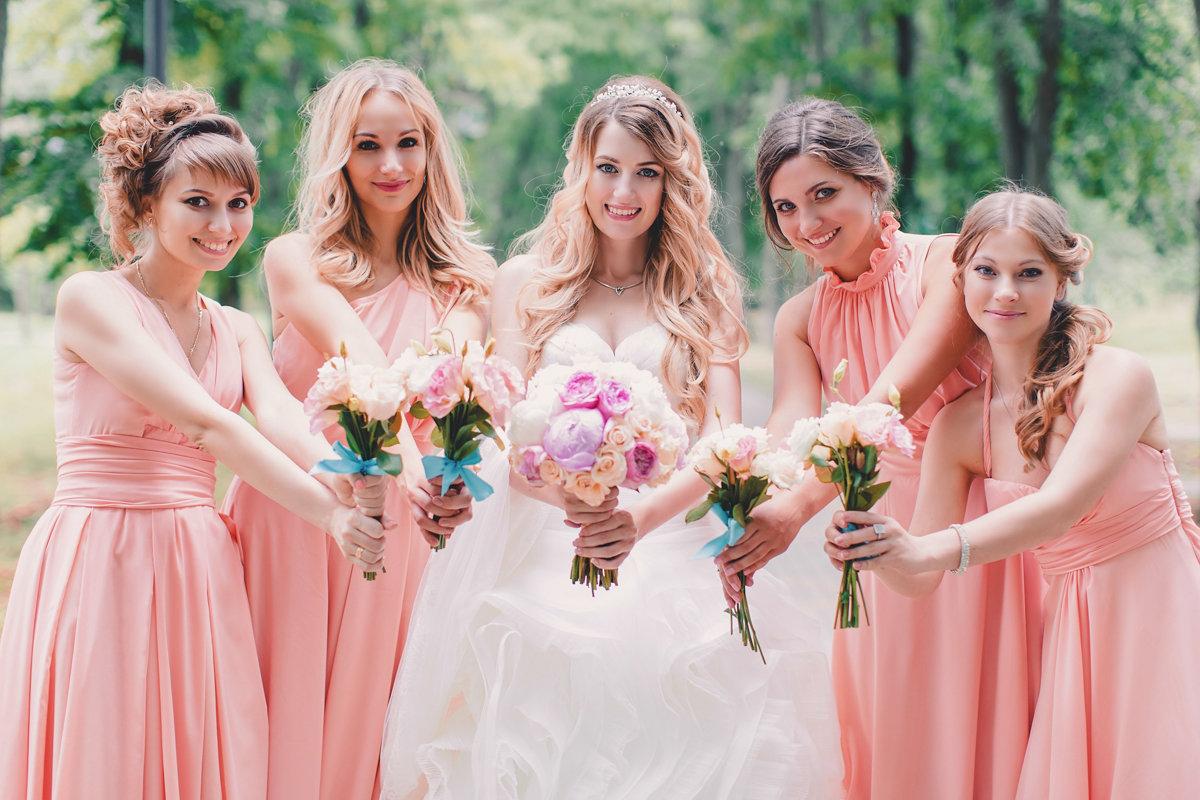 Платье для подруг невесты фото