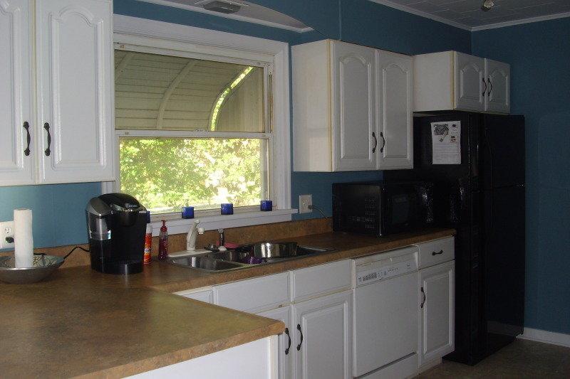 Зеленые занавески на кухню фото нее, они