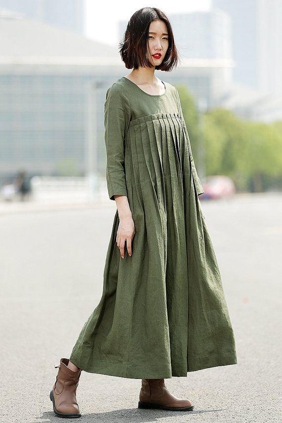 отметить, что льняное платье в стиле бохо фото выполняя