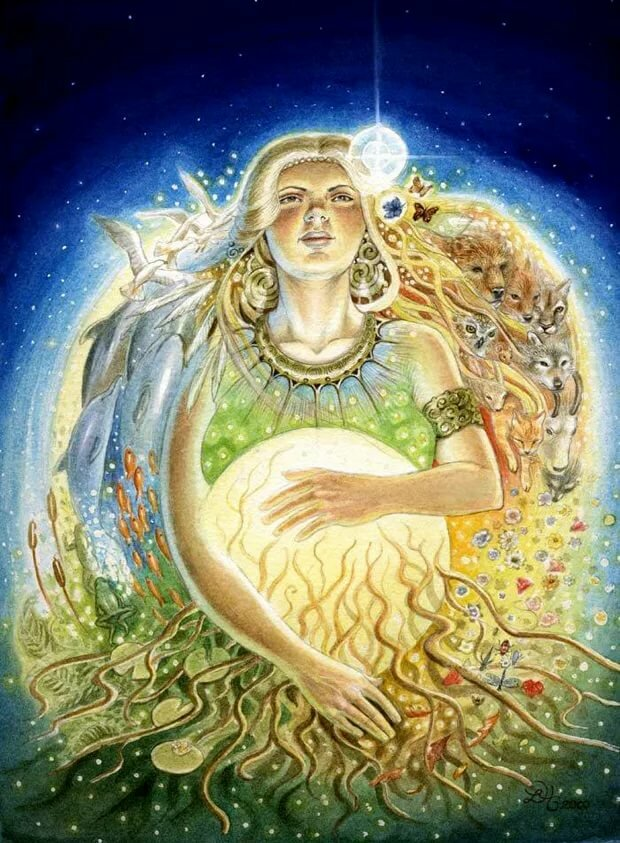 Мать богов картинка