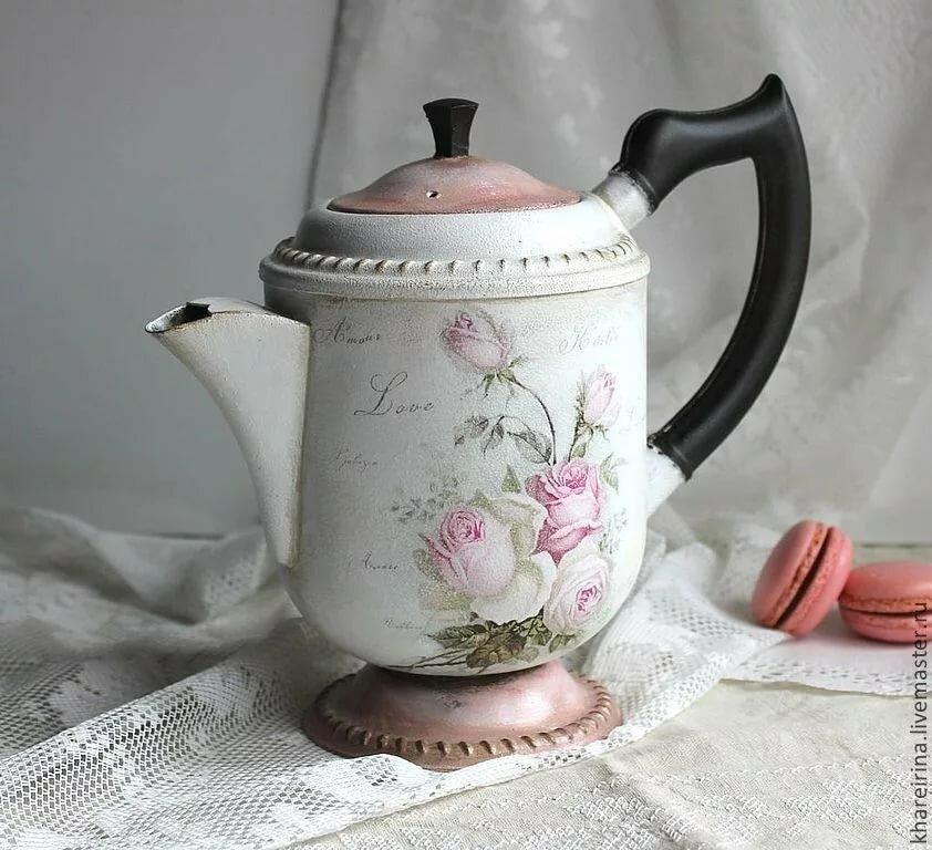 картинки заварочных чайников декупаж увидит этих