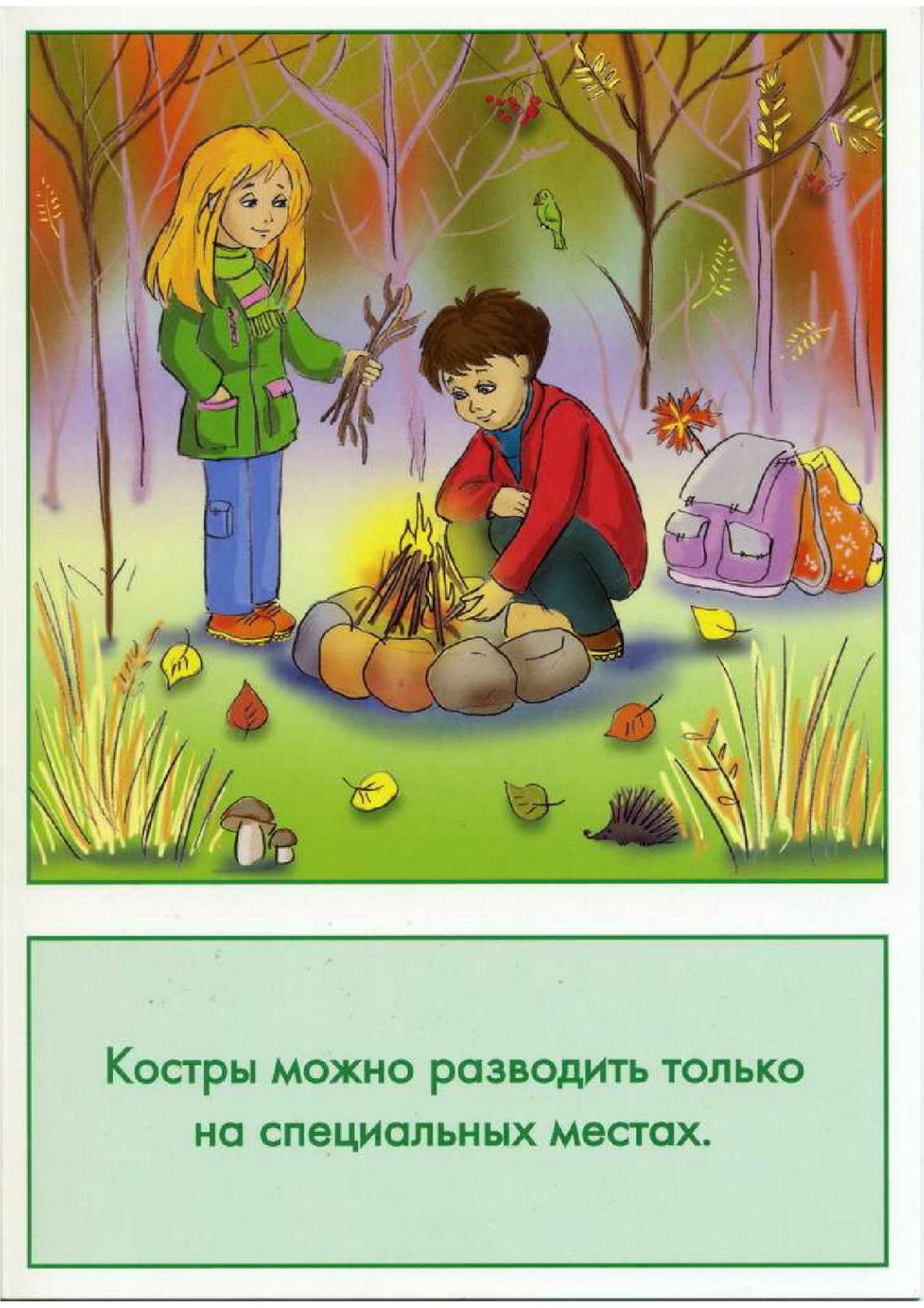 Картинки безопасность на природе для дошкольников