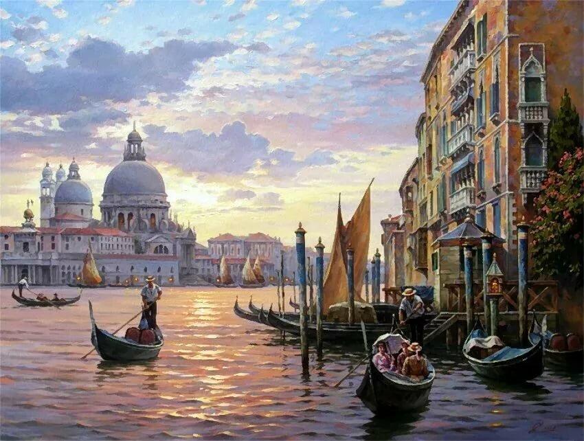 уверенностью венеция в картинах великих художников шоу том, что