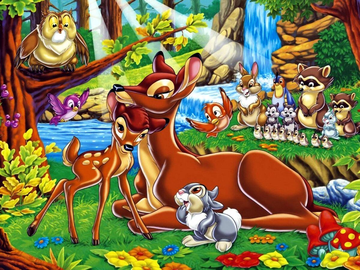 Картинки для детей животные из мультиков