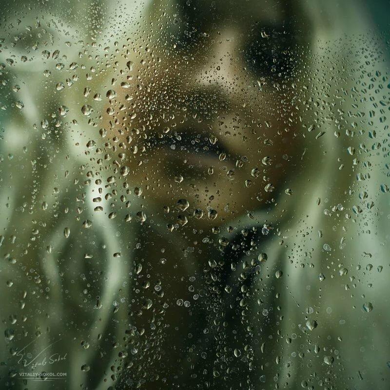 Слезы на стекле картинки