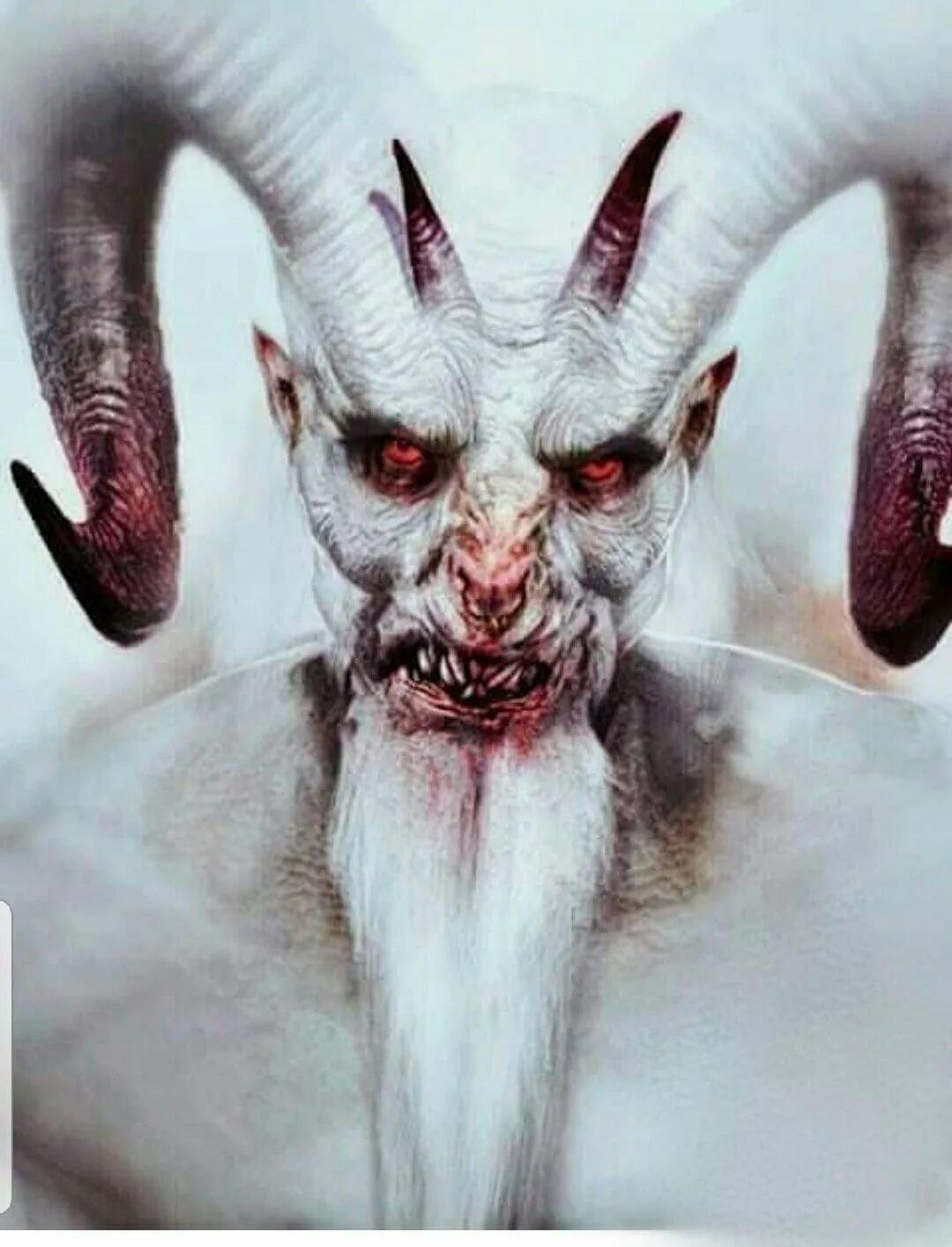 Картинки страшные с дьяволом