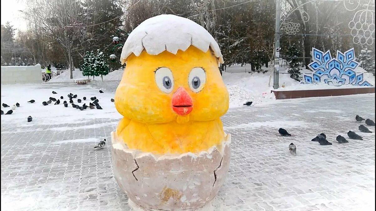 как из снега сделать фигуры фото