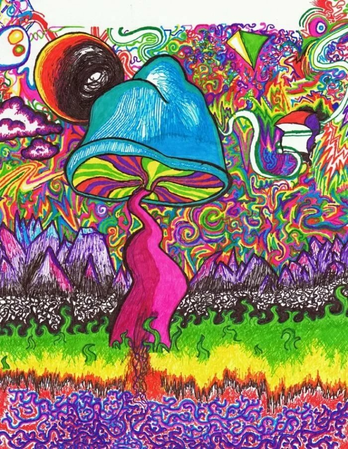 Создание психоделических картинок