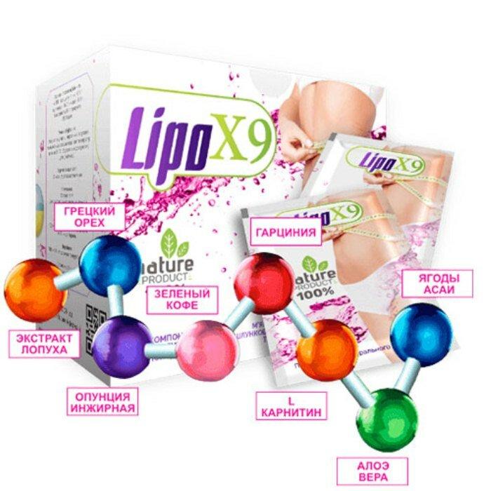 LipoX9 для похудения в Благовещенске