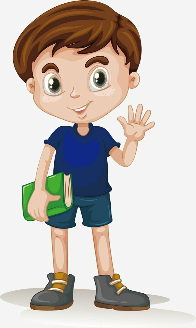 Картинка мальчика-подростка для детей