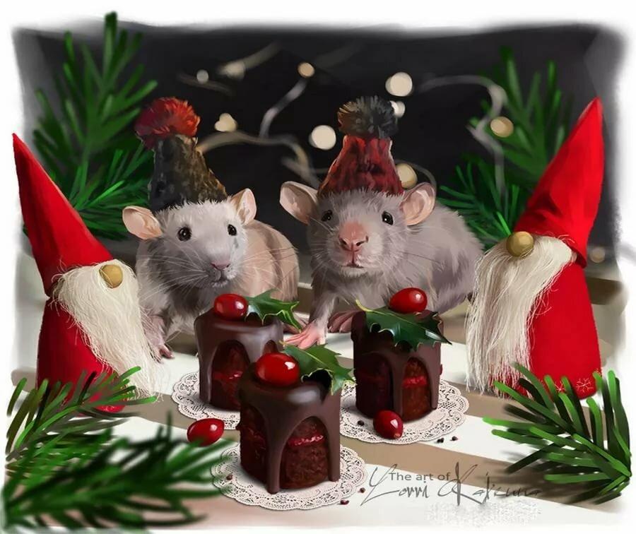 фото картинки с наступающим новым годом с мышкой запросу магазин