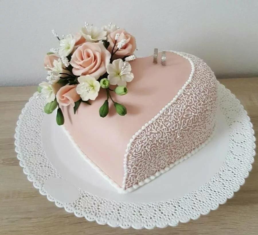 Картинки свадебных тортов без мастики одноярусный