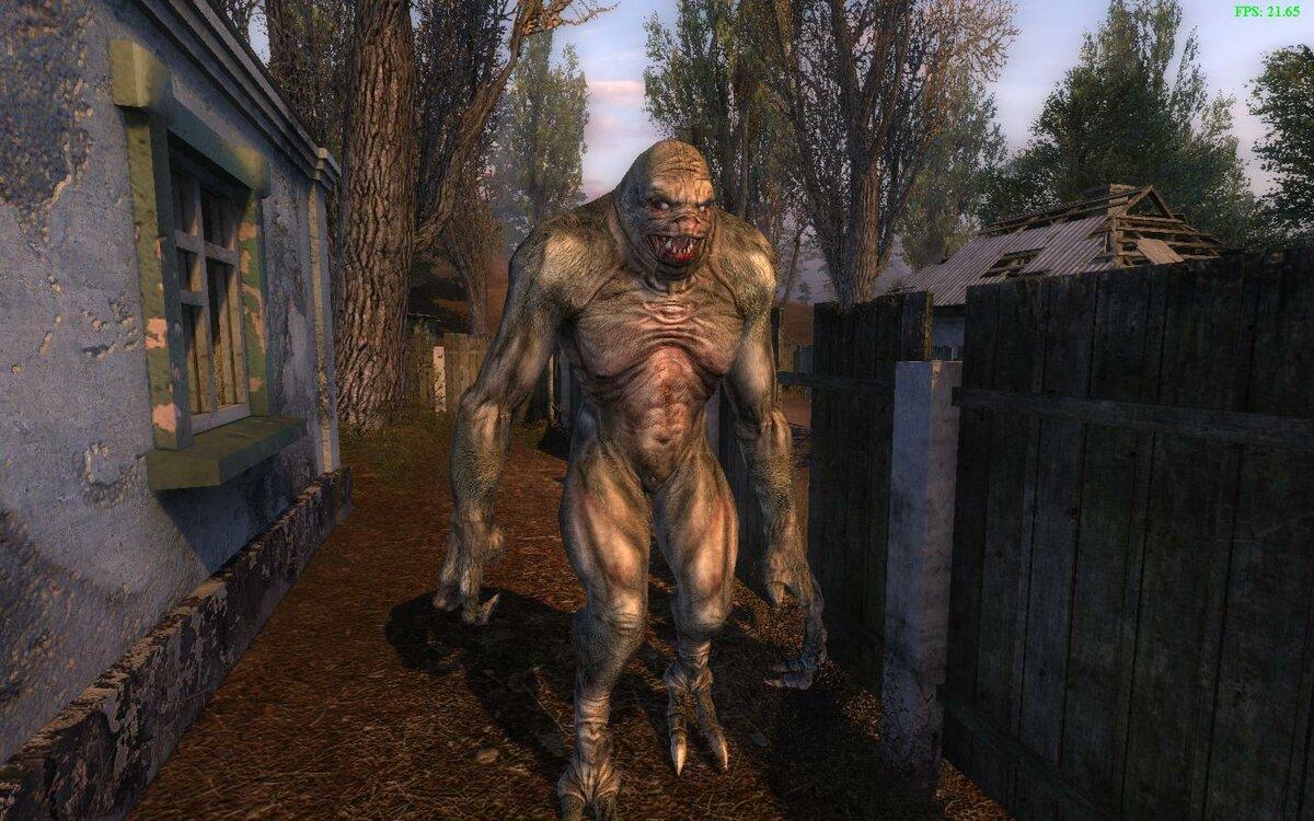 Все картинки монстров из игры сталкер