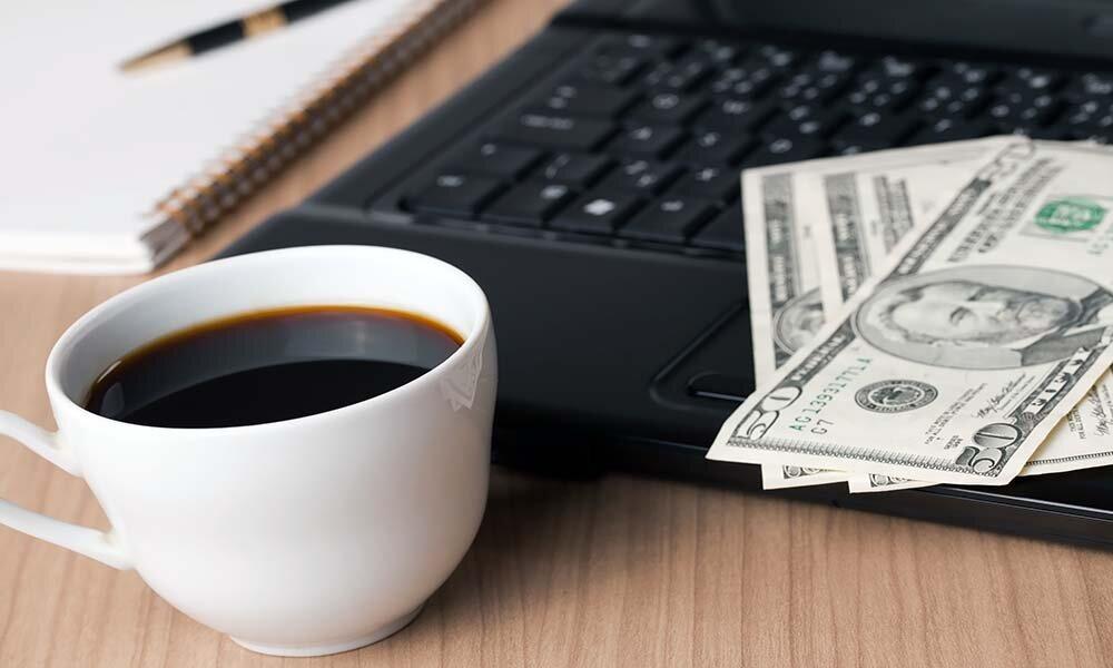 Картинка доброе утро деньги компьютер