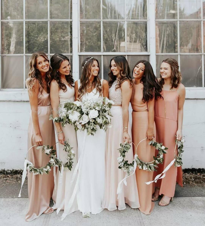 Совместное поздравление от подружек невесты