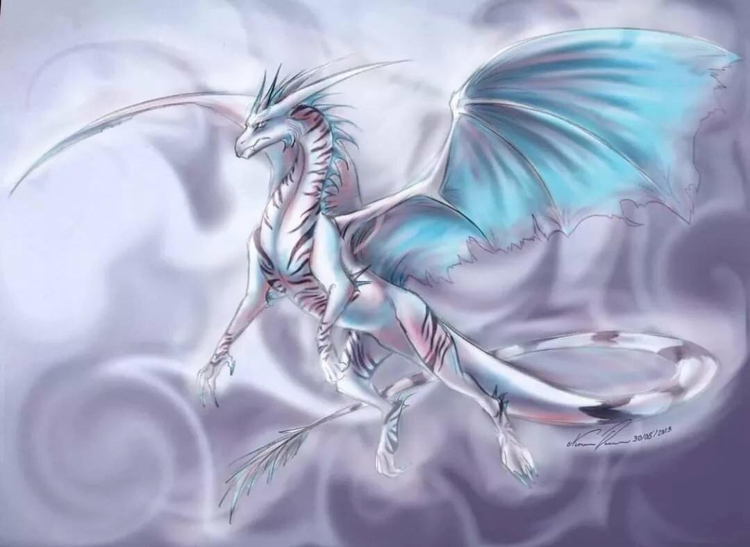 серебряные драконы картинки красивые анютки темного