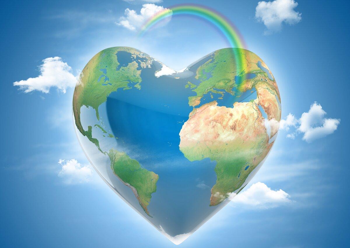 картинка счастливой планеты земля