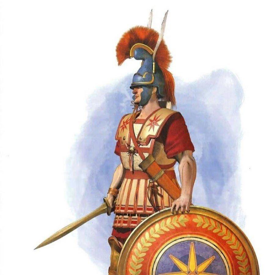 воин македонии картинки войны