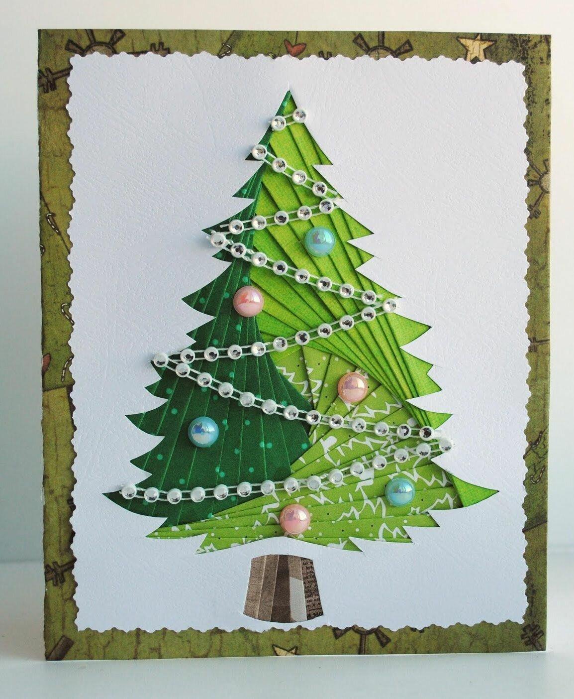 новогодняя елка открытка поделка фото сексуальных