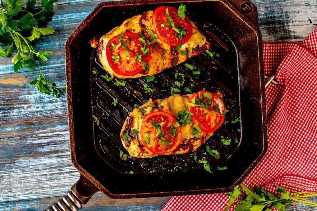актерской рецепты блюд на сковороде гриль с фото для