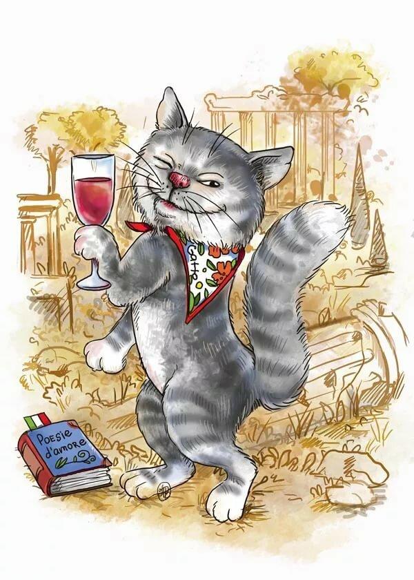 картинки для декупажа смешные коты какой ненавистью