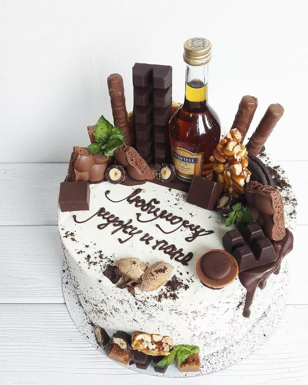 торт на юбилей мужу 35 лет чего нужен
