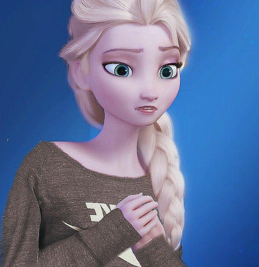картинки с эльзой из холодного сердца на аватарку эффектом боке
