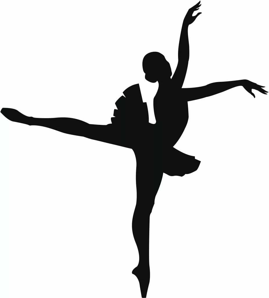гараж картинка балерина черно белая картинка казалось