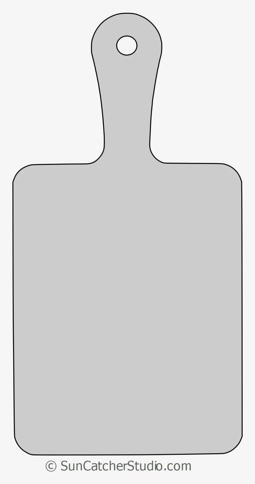 Разделочная доска шаблон картинки