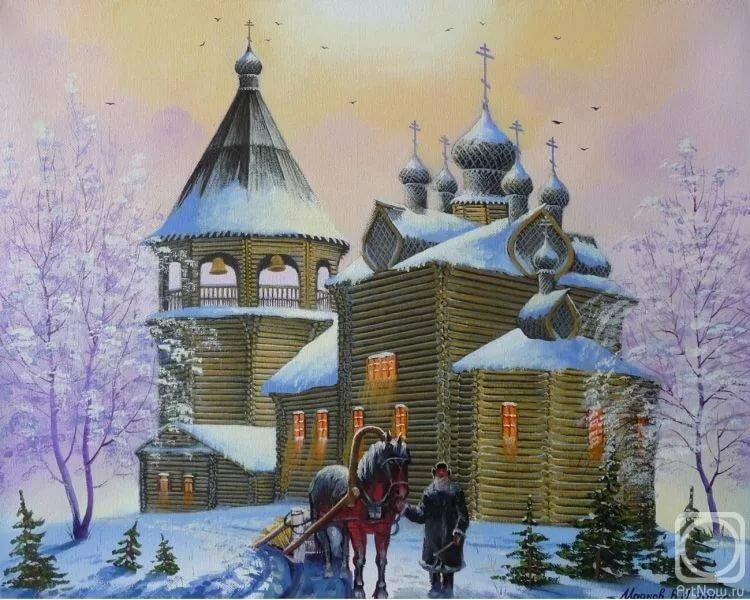 Красивые открытки с церквями