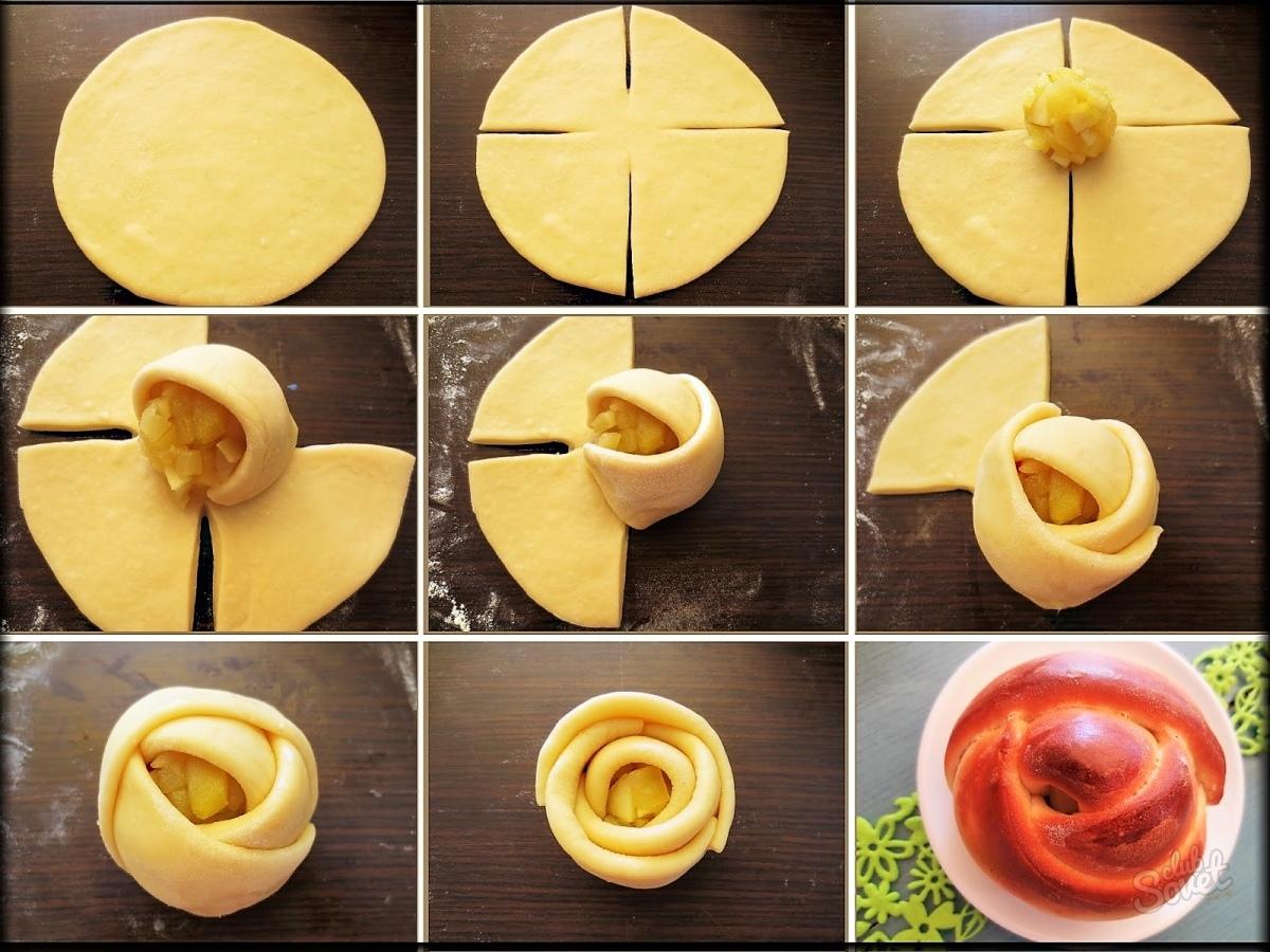 как красиво сделать пирожки фото