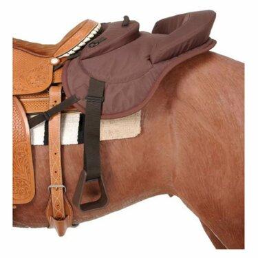 двойное седло для лошади