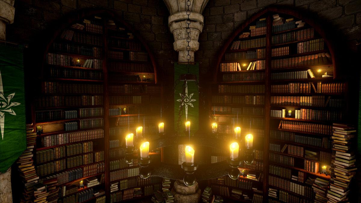 слайд картинки волшебных библиотек серьезной обработки соответствующего
