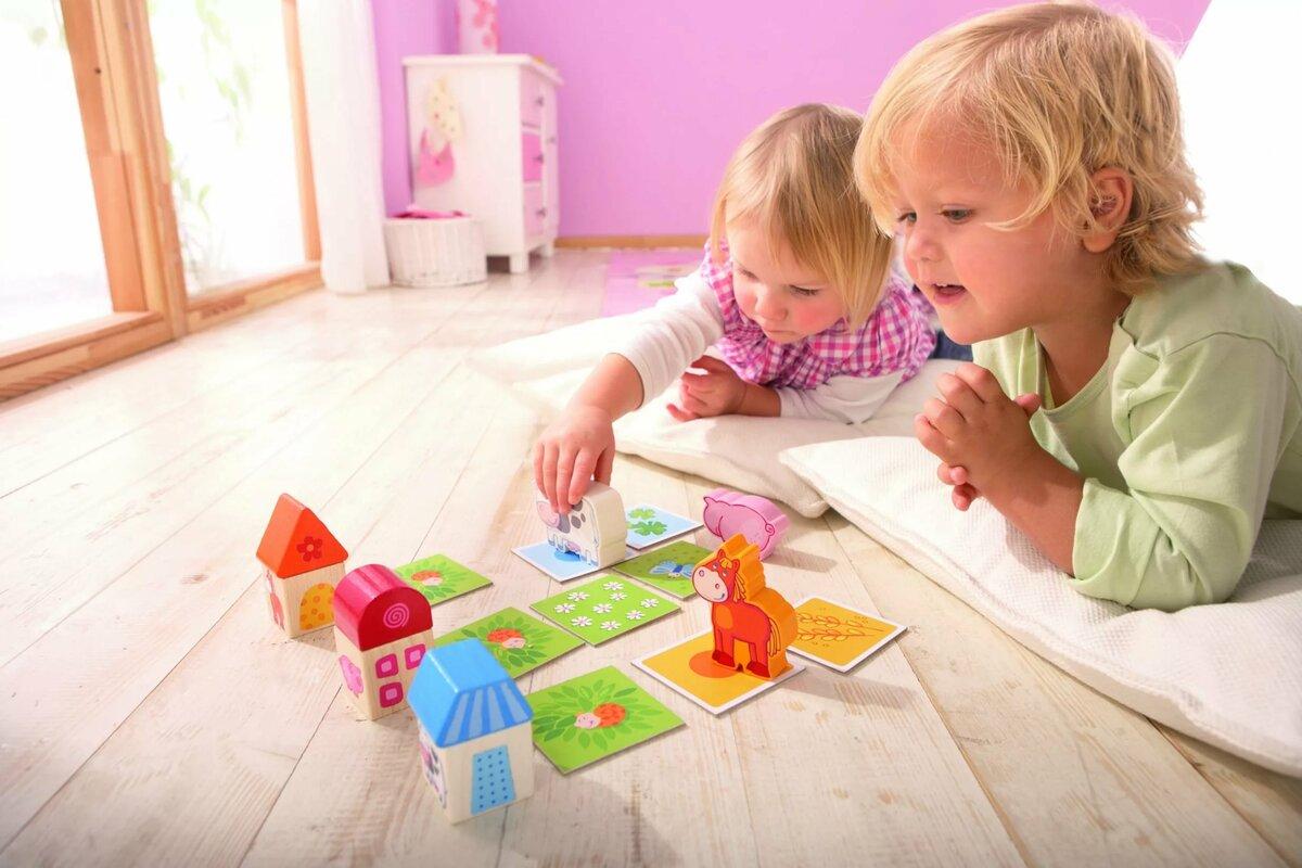 Игры с детьми в картинках