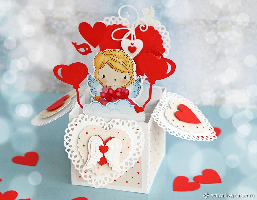 Смотреть открытки валентинки большие