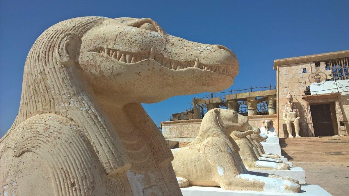 аренду картинки египет статуи что