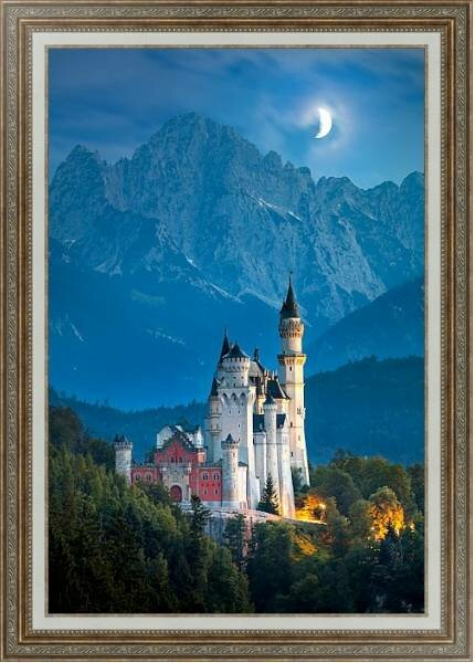 Постеры с замком