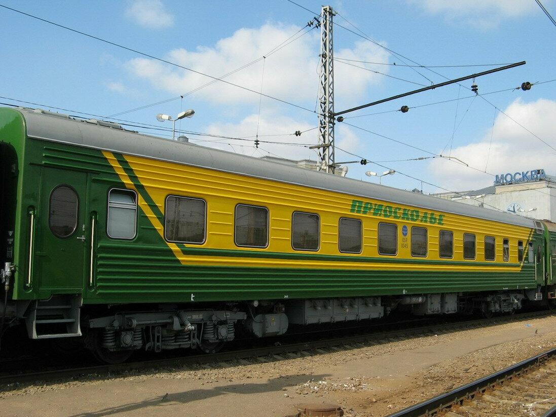 Фото фирменных поездов