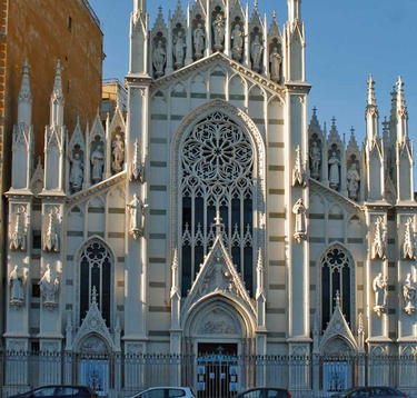 поздняя готика в архитектуре