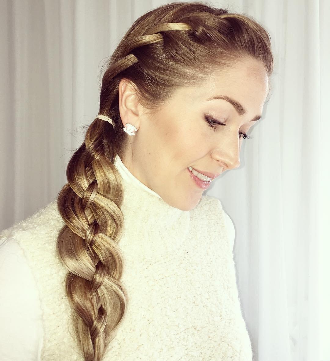 прически на длинные волосы с косами в картинках представьте