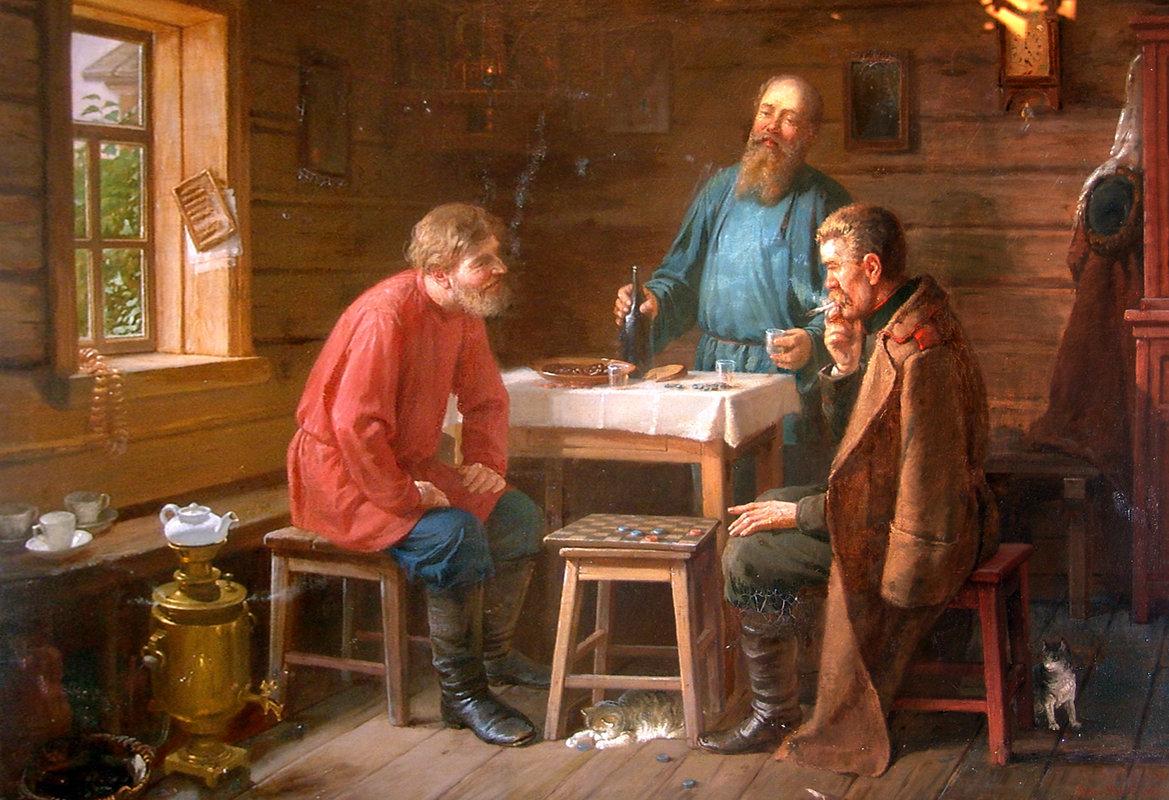 фото картин русских мастеров развития аллергической