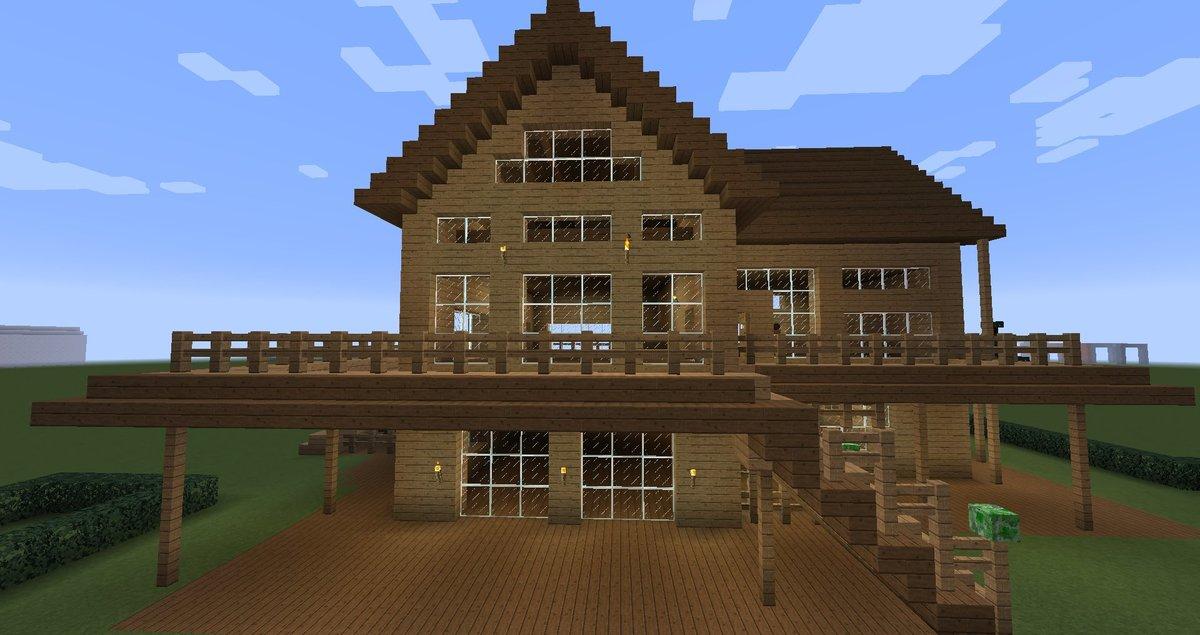 красивые дома в майнкрафт как построить пошагово диван