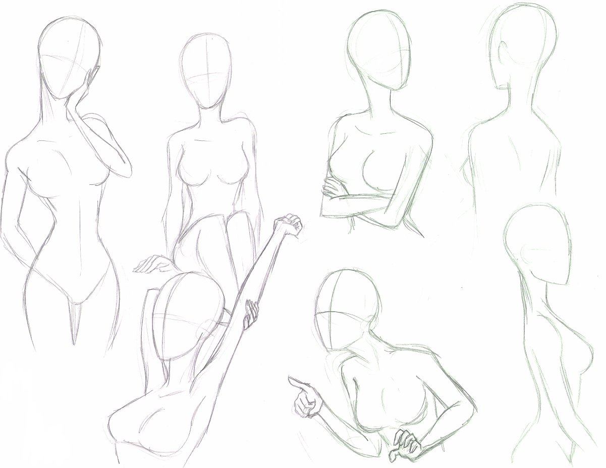 Anime girl drawing poses poses deviantart drawing sketch galery card from user lisenkovaekaterina 20 17 in yandex collections
