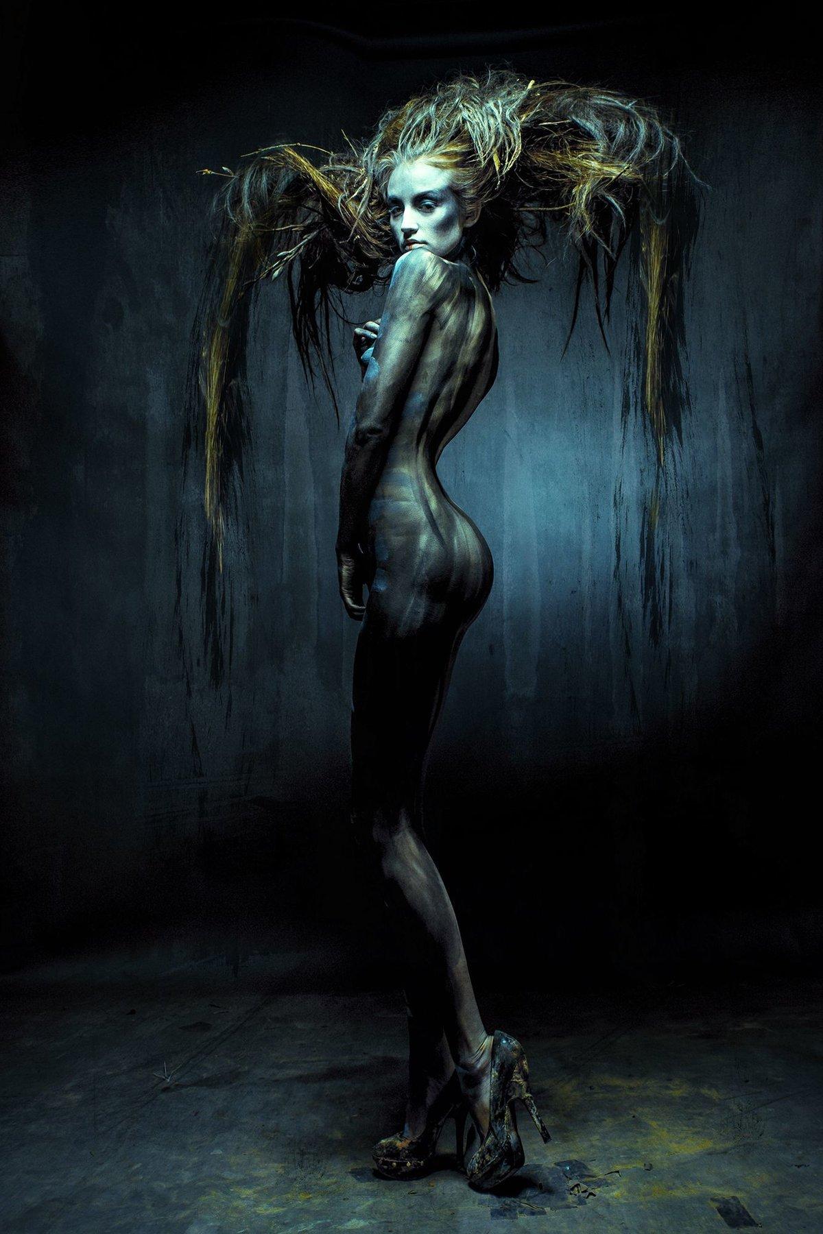 Evil woman nude #6