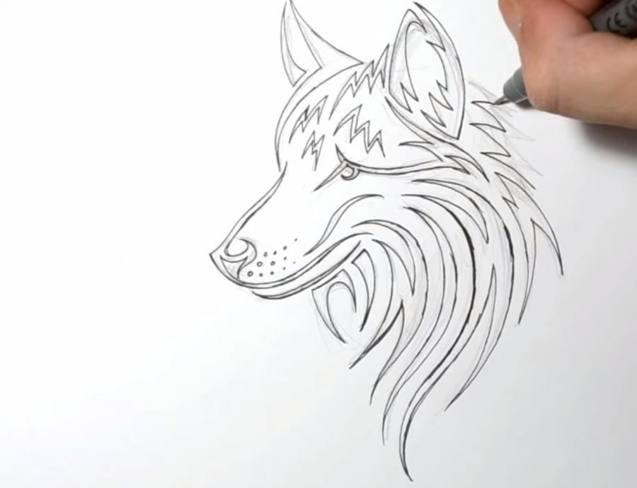 Поэтапные картинки тату