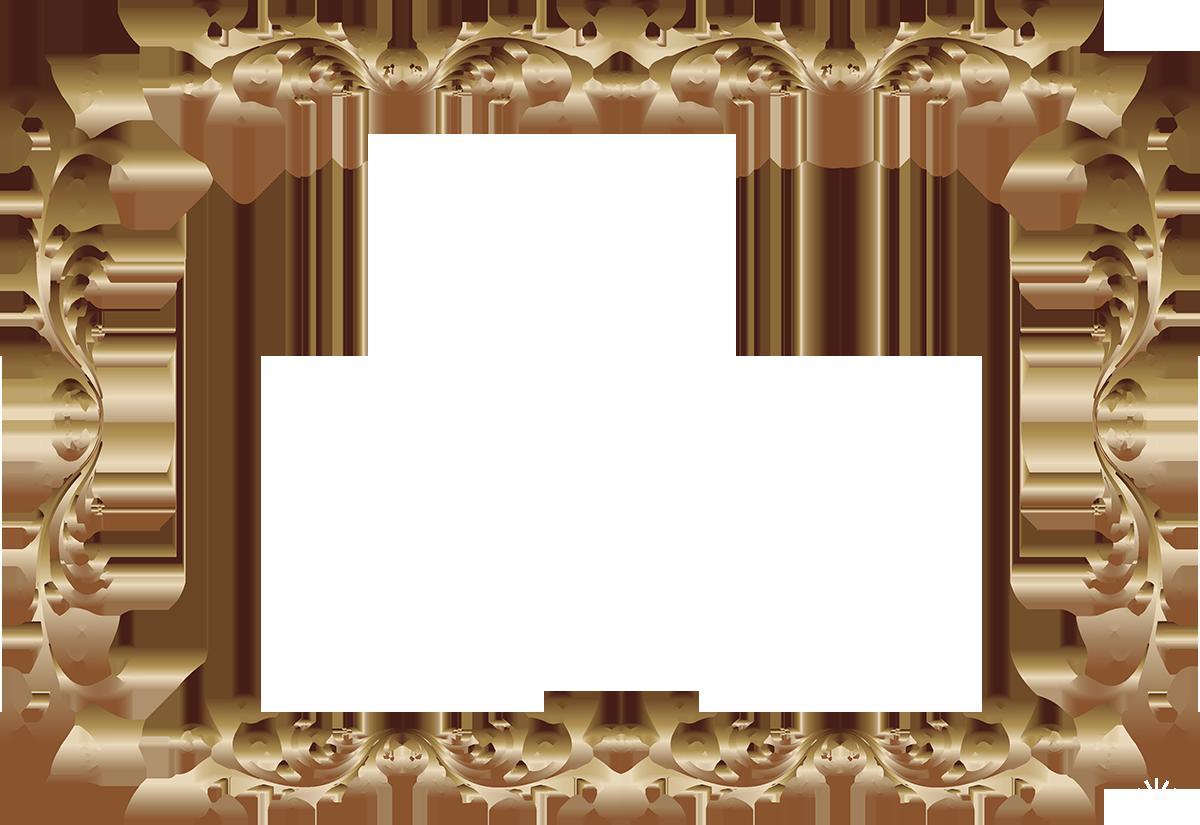 Картинка рамка для фото с вензелями