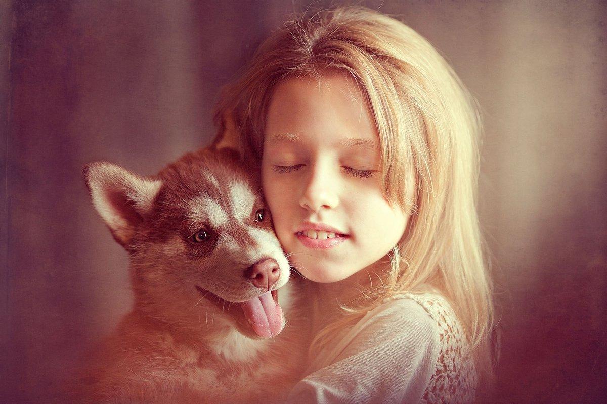 Взрослого, приватная открытка дари добро и оно к тебе возвратиться с собакой