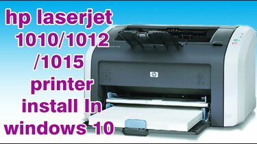 7 LASERJET DRIVER IMPRIMANTE TÉLÉCHARGER HP 1010 WINDOWS